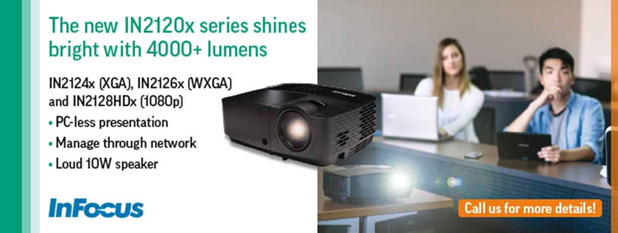 InFocus Webinar about Projektor range
