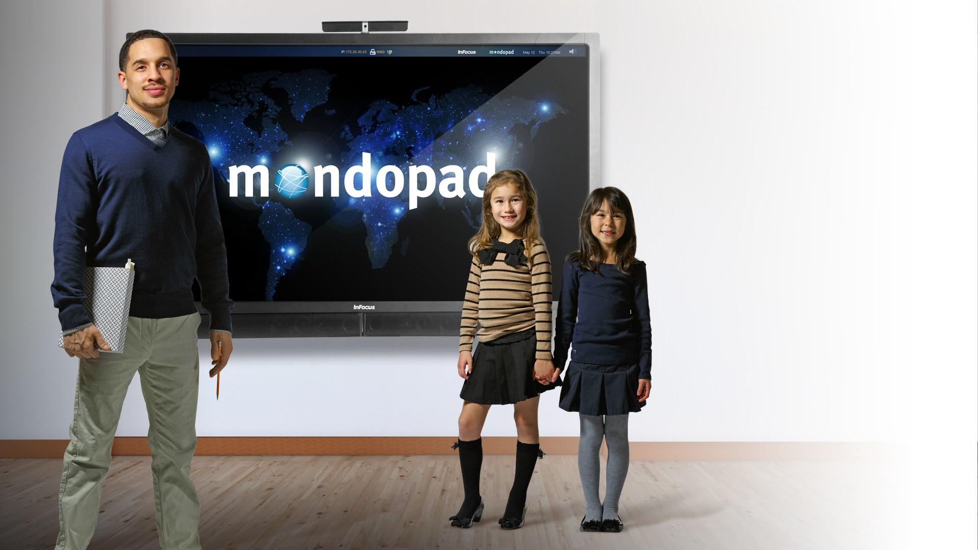 L'écran tactile MONDOPAD est également un partenaire important dans l'éducation