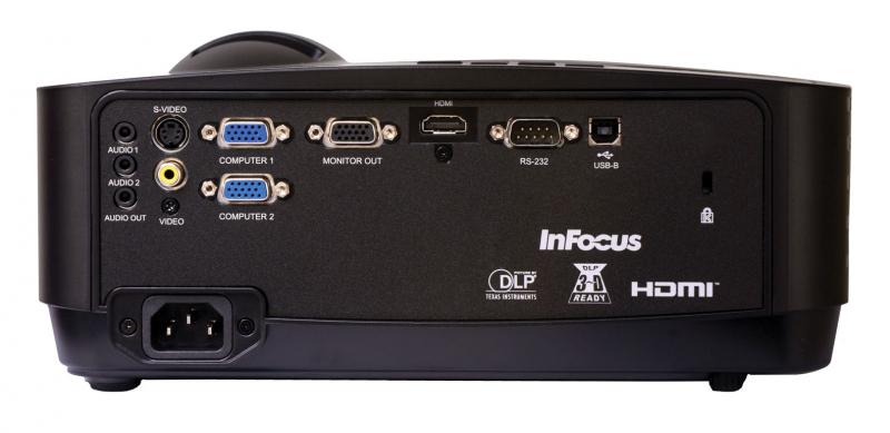 Projektor InFocus IN118HDA und IN118HDSTa (Back)
