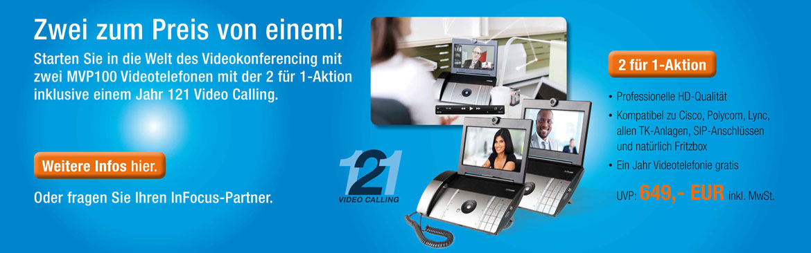 InFocus Video Phone Aktion