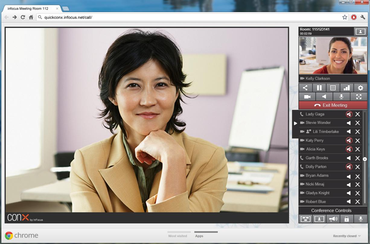 InFocus Videokonferenzsystem