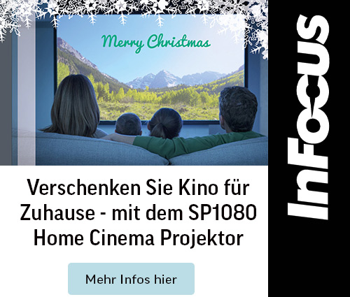 Der Heimkino beamer Full HD