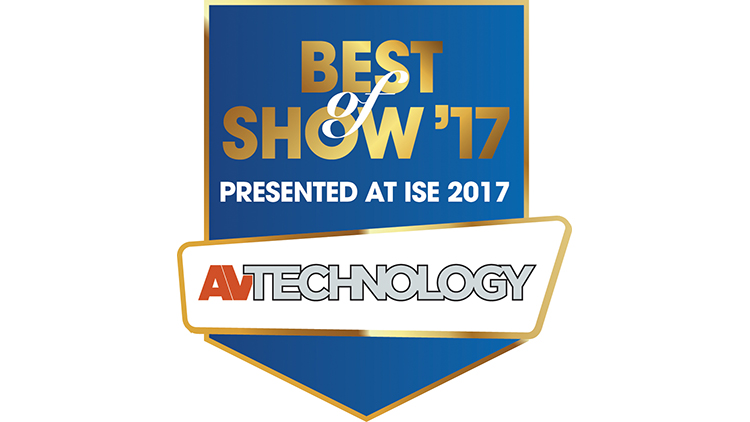 Best of Show award by AV Technology goes to our Mondopad INF7023