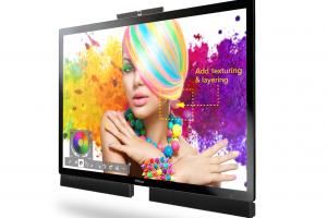 Das 85 Zoll große Mondopad Ultra mit 4K Auflösung von InFocus für Content-Sharing und visuelle Kommunikation