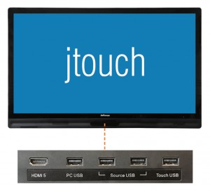 Touch screen JTouch INF6500e by InFocus - the perfect presentation